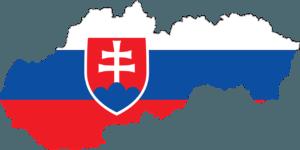 slovakia map flag